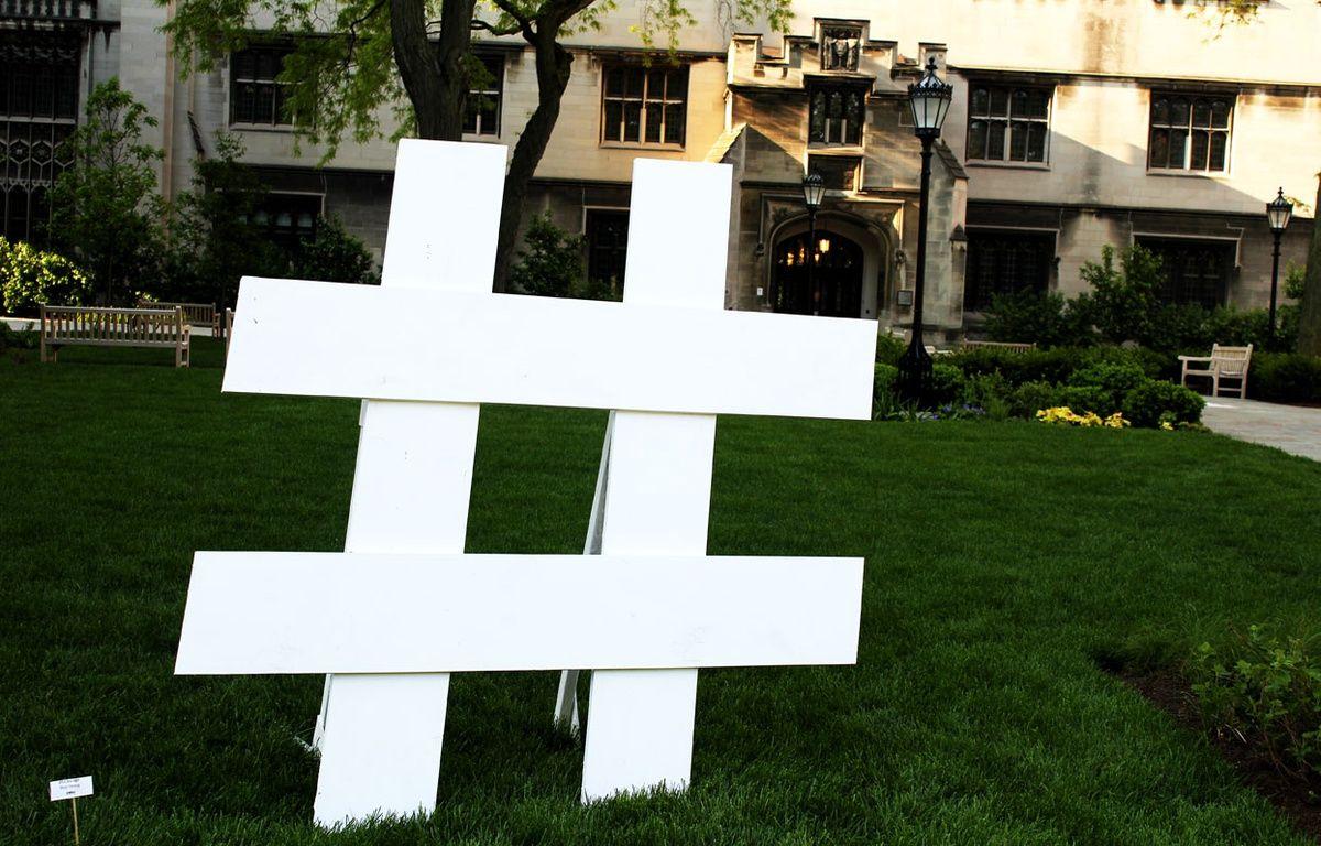 Le hashtag, un nouveau mot à la mode. – Flickr/Quinn Dombrowski