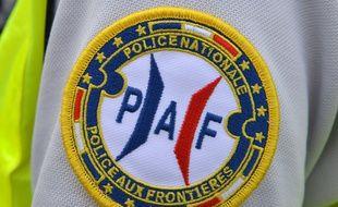 Un policier de la Police aux frontières (illustration)