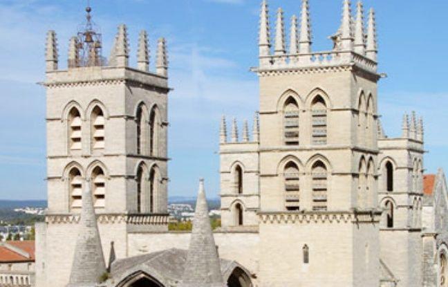 Montpellier les fa ades de la cath drale saint pierre de la facult de m decine et de la tour - Cathedrale saint pierre de montpellier ...