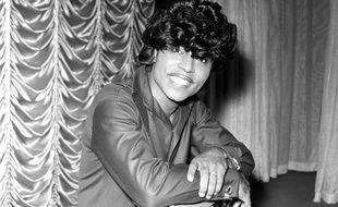 Le chanteur Little Richard en 1966