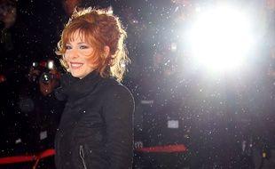 Mylène Farmer aux NRJ Music Awards 2012.