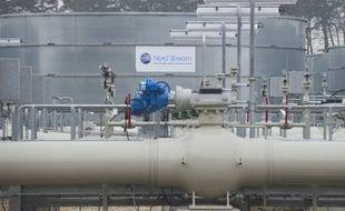 Illustration d'un terminal du gazoduc Nord Stream reliant la Russie à l'Allemagne via la mer Baltique.