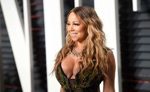 Mariah Carey a eu un petit souci de décolleté aux Oscars