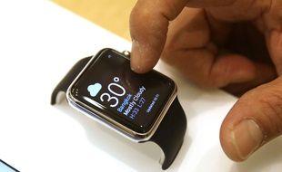 Démonstration de l'Apple Watch, en Thaïlande, le