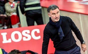 Christophe Galtier, entraîneur d'un LOSC qui va très mal