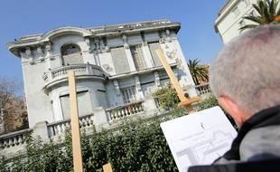 La villa Luna est devenue la propriété de la mairie de Nice.