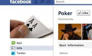 Facebook veut jouer poker pour du vrai...
