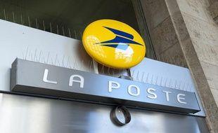 Un bureau de Poste à Paris.