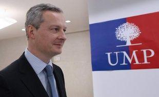 """Redéfinition du rôle de l'Etat, réduction des dépenses publiques, """"sortir une bonne fois pour toutes"""" des 35 heures : Bruno Le Maire, candidat à la présidence de l'UMP, publie lundi son """"nouveau pacte économique""""."""
