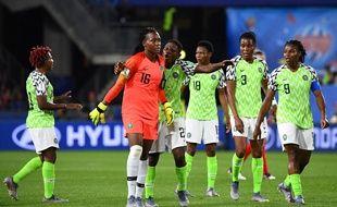 Les Nigérianes ont crié au scandale après le deuxième péno accordée aux Bleues.