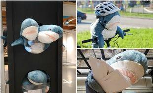 Blahaj, le requin en peluche d'Ikea sait tout faire.