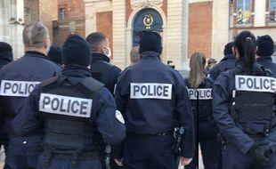 Plus de 200 policiers supplémentaires seront affectés dans le Nord et le Pas-de-Calais (illustration).