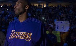 Le joueur des Los Angeles lakers Kobe Bryant, le 1er décembre 2015 à Philadelphie.