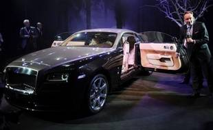 La Rolls Royce Wraith sera lancée en Asie à cette occasion.