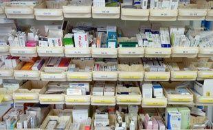 Un stock de médicaments dans un hôpital français