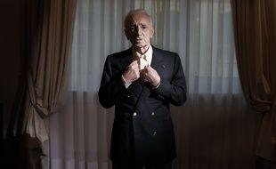 Charles Aznavour en 2016