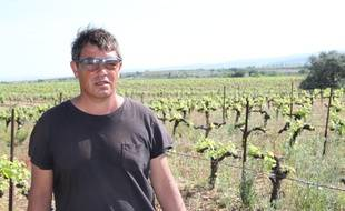 Pascal Dagany, viticulteur à Nizas (Hérault).
