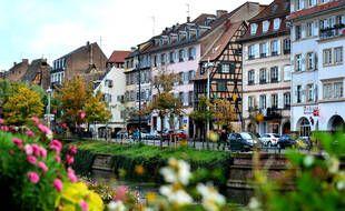Le quai des Bateliers, à Strasbourg. Au sein du quartier de la Krutenau, le prix au m² pour un appartement approche les 4.000 euros.