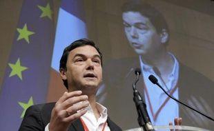 L'économiste Thomas Piketty lors d'une intervention au ministère de l'Economie, le 23 janvier 2015 à Paris