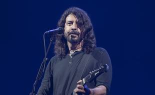 Le leader des Foo Fighters Dave Grohl