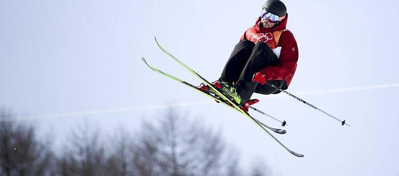 Kevin Rolland, ici lors des JO 2018, a fait son grand retour à la compétition à Aspen, le 12 mars 2021.