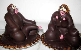 Photo de Dieu et de Déesse, les gâteaux jugés racistes par le Cran