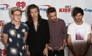 Les One Direction à Los Angeles en décembre 2015