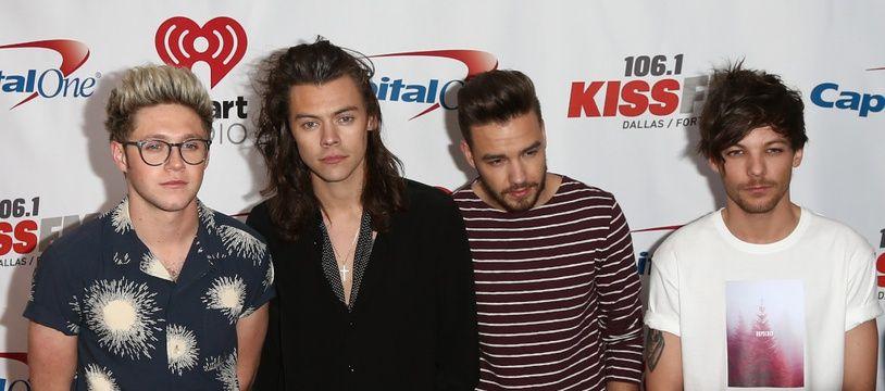 Les One Direction à Los Angeles en décembre 2015