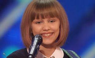 Grace VanderWaal dans «America's Got Talent», diffusé le 7 juin 2016.