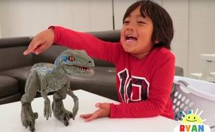 Le youtubeur Ryan, 8 ans, de la chaîne Ryan ToysReview.