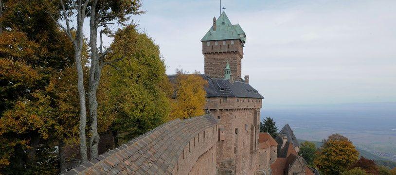 Château du Haut Koenigsbourg. (Archives)