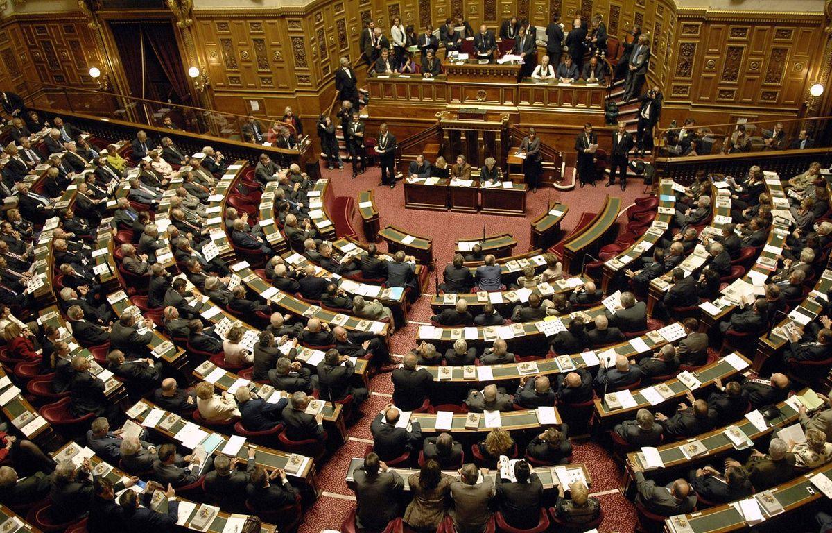 Illustration du Sénat français.  – DURAND FLORENCE/SIPA
