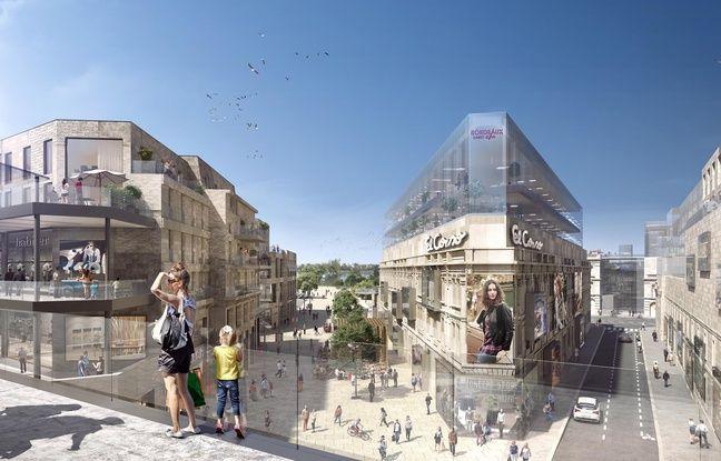 Le projet de Rue Bordelaise autour de la gare Saint-Jean se veut comme une nouvelle centralité de Bordeaux