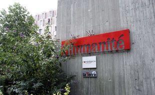 Le siège du journal «l'Humanité» à Saint-Denis en Seine Saint-Denis.