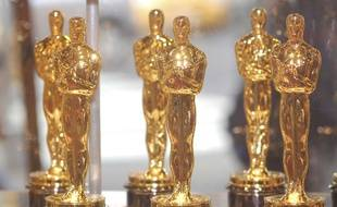 La statuette des Oscars. Illustration