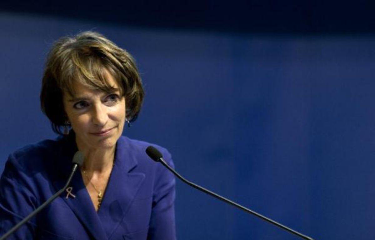 La ministre de la Santé et des Affaires sociales, Marisol Touraine, le 16 octobre 2014 à Paris – Kenzo Tribouillard AFP