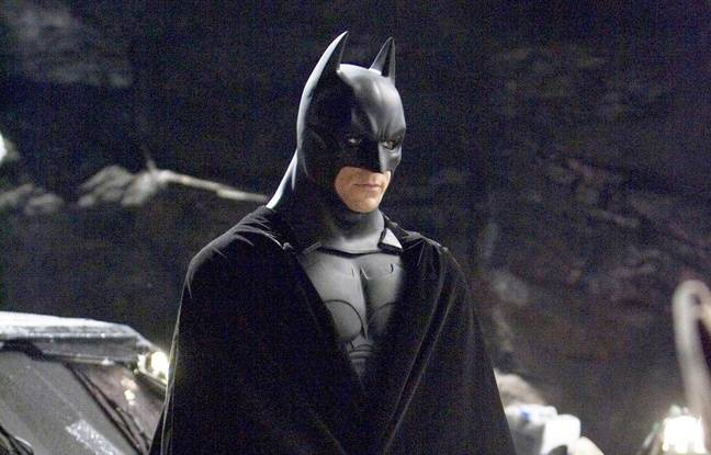 Christian Bale dans Batman begins.