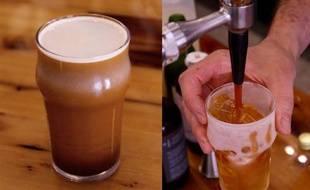 Le « nitro-café » est commercialisé depuis six mois par – 196° Evénements.