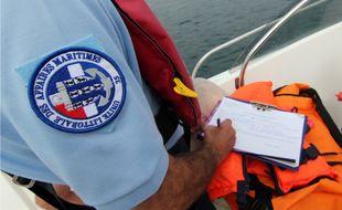 Un contrôle des affaires maritimes, ici à Saint-Malo.