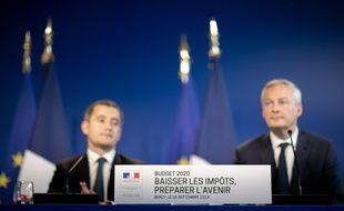 Gérald Darmanin et Bruno Le Maire ont présenté le budget 2020 ce jeudi 26 septembre.