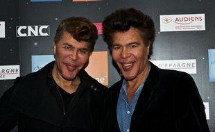 Les frères Bogdanov, en décembre 2013