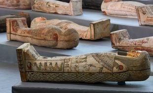 Une centaine de sarcophages ont été retrouvés.