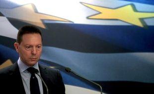 Les trois représentants de la troïka des créanciers, la Commission européenne (UE), de la Banque centrale européenne (BCE) du Fonds monétaire international (FMI), se sont entretenus pendant plus de deux heures dans la matinée avec le ministre grec des Finances, Yannis Stournaras.