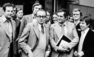 Le ministre de l'Intérieur Christian Bonnet en août 1977.