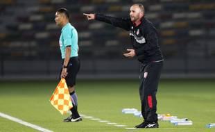 Le nouveau sélectionneur de l'Algérie, Djamel Belmadi