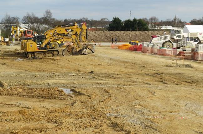 Le chantier du MIN de Nantes s'étend sur un site de 20 ha