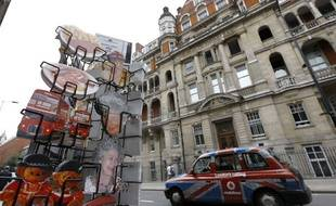 L'hôpital St Mary à Londres où Kate Middleton va accoucher.