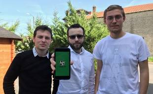 Jonathan Nenich, David Rodrigues et Matias Arraez ont lancé l'application Goaltrotters.