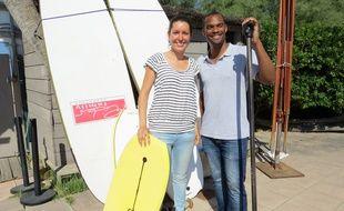 Marseille, le 30 juin 2015, Anne-Laure Chorro et Clément Esso lancent Make it Travel.