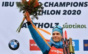 Emilien Jacquelin a signé la première victoire de sa carrière au meilleur moment.